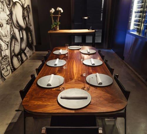 Tables by Token at Momofuku Ko, New York - Barnet Dining Table