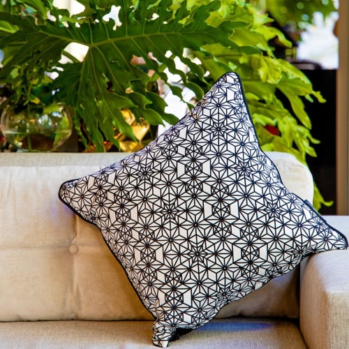 Pillows by PRIMROSE CHARMZ seen at Private Residence, Cape Town - Daffodil | 27 Collection