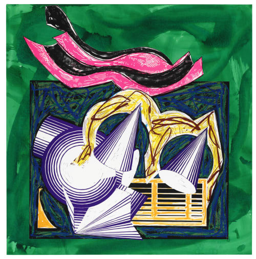 Frank Stella - Sculptures and Paintings
