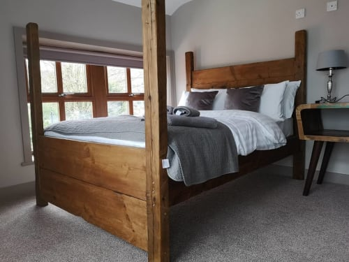 Beds & Accessories by Classic Farmhouse Designs seen at Private Residence, Halifax - Plank bed