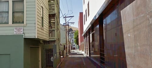 Cypress Alley, SF
