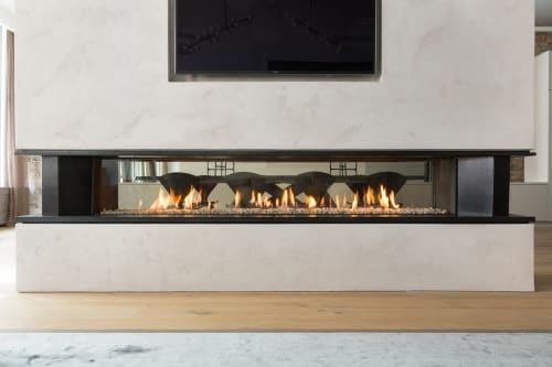 Fireplaces by European Home seen at The Tribeca Loft, New York - Tenore 240