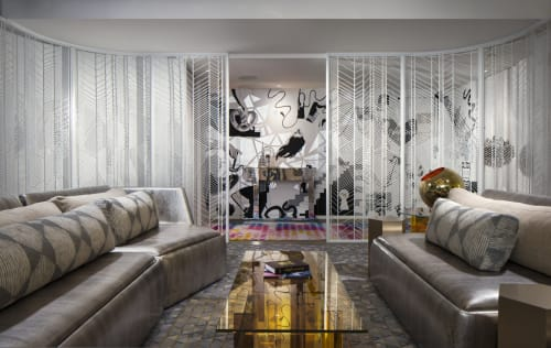 Hardware by Amuneal seen at W New York - Times Square, New York - W Hotel Decorative Screen Doors