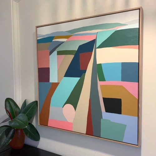 Paintings by Hayley Wills seen at Private Residence, Brisbane - Commissioned Painting