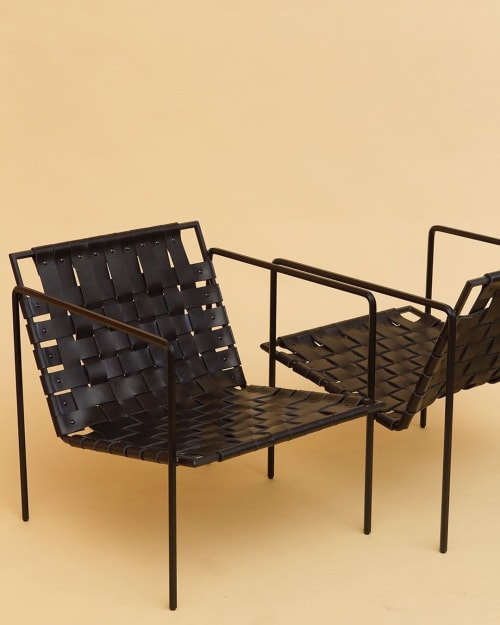 Chairs by Amigo Modern seen at Proper Cloth, New York - Rod+Weave Chairs