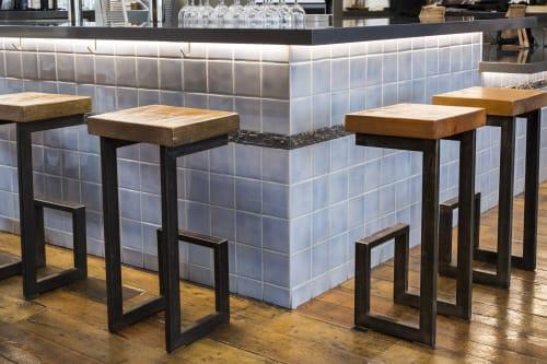 Chairs by Sean Millis Functional Art seen at Homage SF, San Francisco - Stools