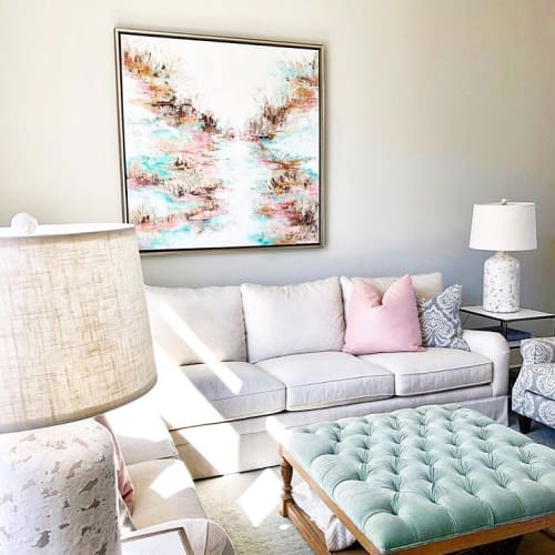 Paintings by Marquin Designs seen at Private Residence, Greenville - Big Mama