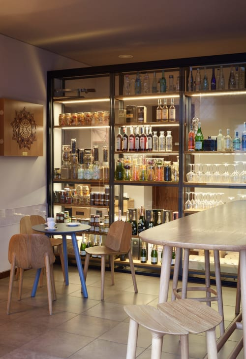 Chairs by Mattiazzi Italy seen at Caffetteria Torinese, Palmanova - Osso Chairs and Tables