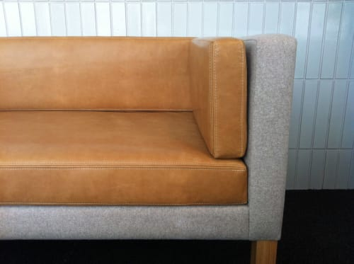 Chairs by Bonetti/Kozerski Studio seen at Avenues: The World School, New York - Chair and Sofa