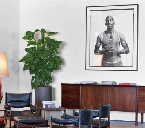Paintings by Jonathan Mannion seen at Spring Place, New York - Artist Rakim