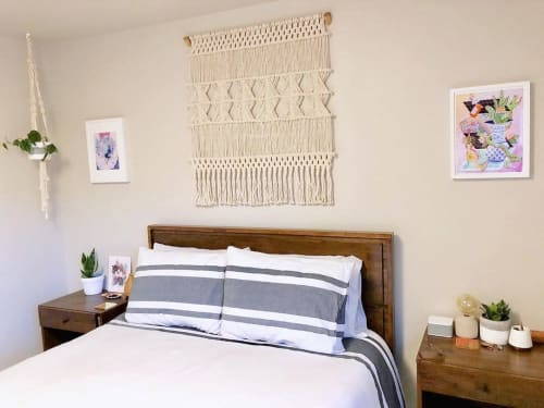 Macrame Wall Hanging by Pacific Knotwest seen at Private Residence, Seattle - Macrame
