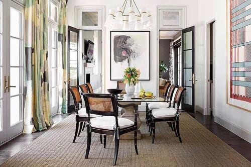 Curtains & Drapes by Porter Teleo at Private Residence, Dallas - Silk Scarf