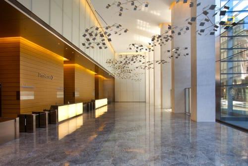 Eleven Times Square, Offices, Interior Design