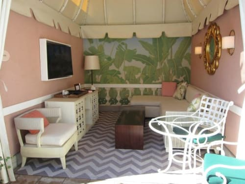 Chairs by Walters Wicker seen at The Beverly Hills Hotel, Beverly Hills - Nobis Lounge Chair (Cabana)