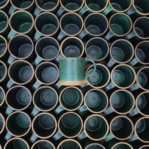 Tableware by Sven Ceramics at Four Barrel Coffee, San Francisco - Handthrown Mugs