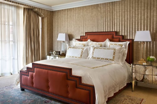 Art & Wall Decor by Gilbert Rohde seen at Montage Beverly Hills, Beverly Hills - The timepiece and iconic art-deco font