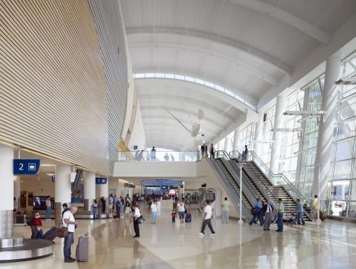 Mineta San José International Airport, Public Service Centers, Interior Design