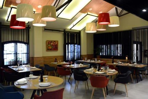 Pendants by Fambuena seen at HOTEL L'ESTACIÓ - RUSTICAE, Bocairente - Rafia
