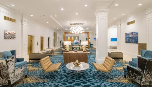 Club Quarters Hotel in Houston, Hotels, Interior Design