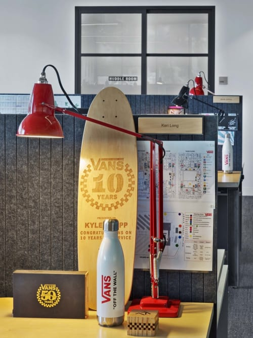 Lighting by Anglepoise seen at Vans HQ, Costa Mesa - Original 1227 Desk Lamp