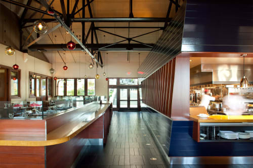 Interior Design by CCS Architecture seen at Lake Chalet, Oakland - Design & Architecture
