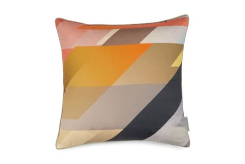 Pillows by Kit Miles seen at Private Residence, London - Diagonal Gradient Cushion