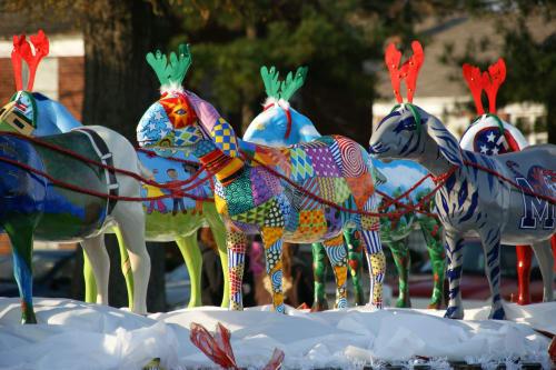 Cowpainters - Sculptures and Art