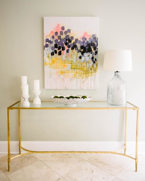 Paintings by Caroline Wright at Private Residence, Memphis - Abstract Painting