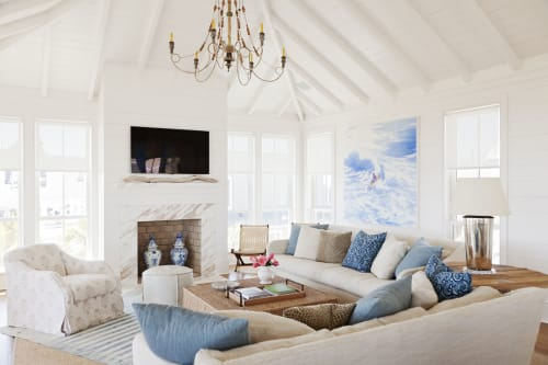 Interior Design by Jenny Keenan seen at Sullivan's Island Beach, Charleston - Interior Design