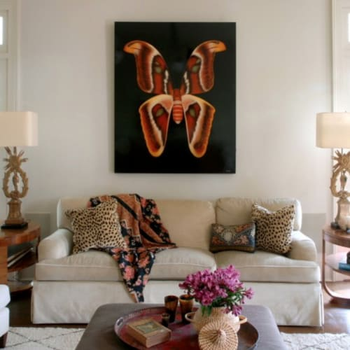 Paintings by Horton Arts Gallery seen at Private Residence, New Orleans - Butterfly
