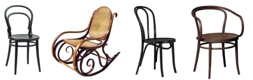 Michael Thonet - Chairs and Furniture