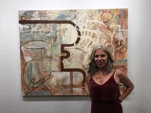 Paintings by Rose M Barron at Made Again, Atlanta - Premordial