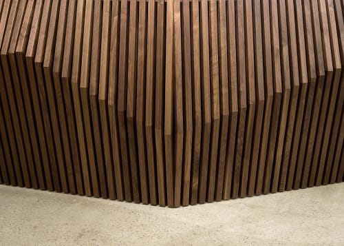 Furniture by Robert Sukrachand seen at Etsy, DUMBO, Brooklyn - Parametric Desk