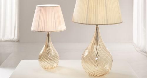Lamps by Cangini & Tucci seen at Villa Armena Luxury Relais, Buonconvento - Lacrima