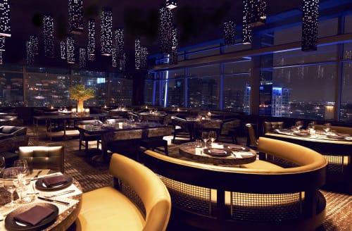 WP24 by Wolfgang Puck, Bars, Interior Design