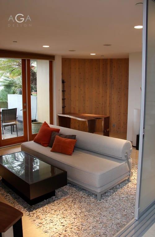 Interior Design by AGA Design seen at Manhattan Beach Home Office, Manhattan Beach - Interior Design