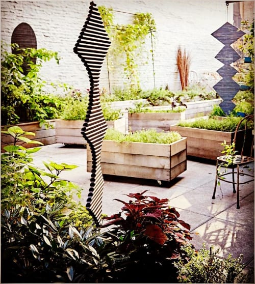 Sculptures by Jill Platner seen at il Buco Alimentari & Vineria, New York - Nester