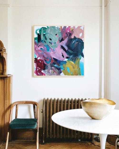 Paintings by maja dlugolecki seen at Private Residence, Portland - Metamorphose, A Process