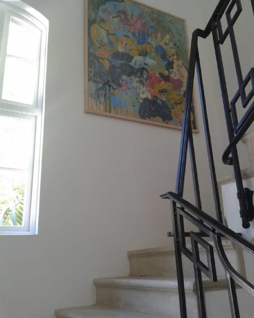Paintings by Paul Senyol seen at Private Residence, Cape Town - Kimbuu