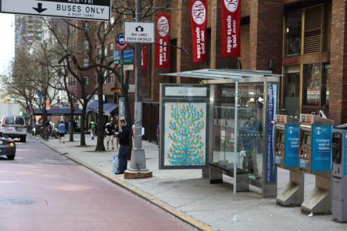 Street Murals by Michael De Feo seen at New York, NY, New York - Framed Mural