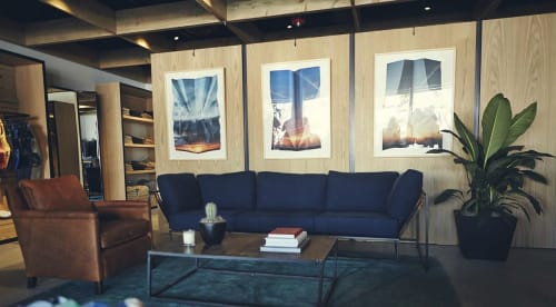Paintings by Millee Tibbs seen at Bonobos, Los Angeles - Airs/Plains
