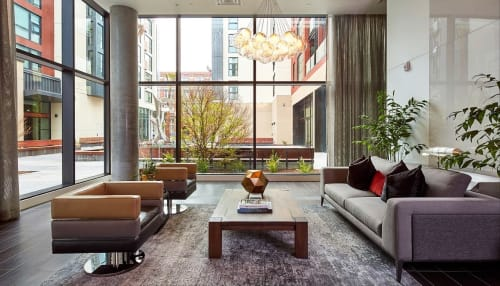 One Henry Adams Apartments, Hotels, Interior Design