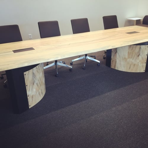 Tables by Chance Coalter seen at Umpqua Bank, San Diego - Conference Table