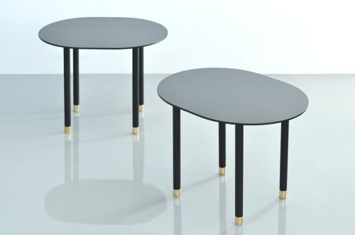 Tables by Phase Design by Reza Feiz at L'Horizon Resort & Spa, Palm Springs - Pill Side Table