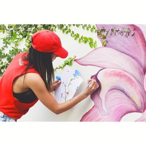 Mural Consulado de Colombia (Miami)   Murals by La Rivera Ilustrada   Consulate General of Colombia in Coral Gables
