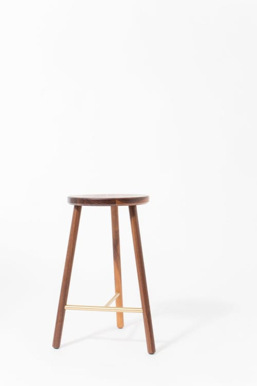 Chairs by Steven Bukowski seen at American Copper Buildings, New York - Scout Stool