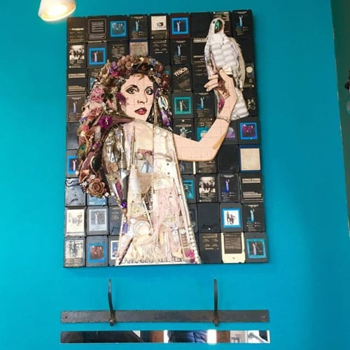 Art & Wall Decor by Jason Mecier seen at Spunk Salon, San Francisco - Stevie Nicks