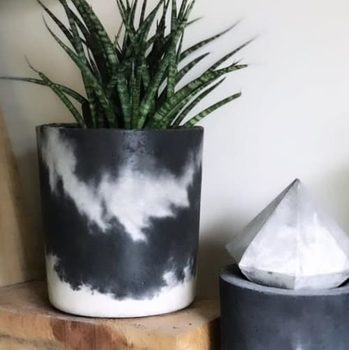 """Vases & Vessels by Hannah Harriet seen at Private Residence - """"Large Cylinder Pot"""""""