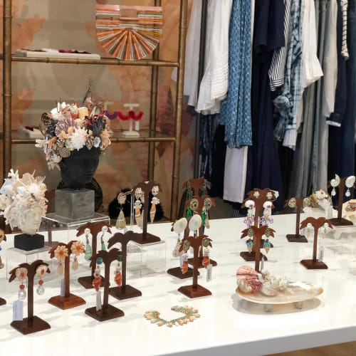Wall Hangings by Christa Wilm seen at The Collective Palm Beach, Palm Beach - Seashell jewelries