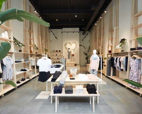 Amour Vert, Palo Alto, Stores, Interior Design